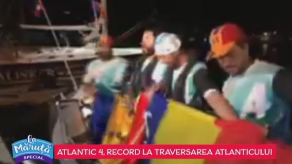 Atlantic 4, record la traversarea Atlanticului