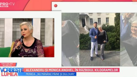 Alexandru si Monica Anghel, in razboiul kilogramelor