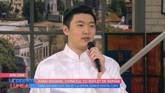 Fang Shuang, chinezul cu suflet de roman