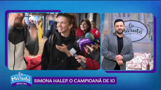Simona Halep, o campioana de 10