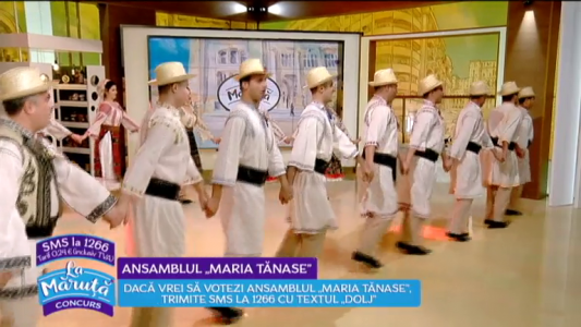 "Povestea Ansamblului ""Maria Tanase"""