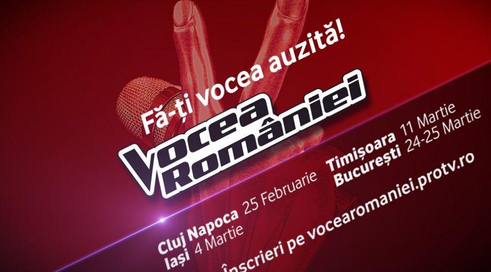 Incep preselectiile pentru sezonul opt Vocea Romaniei!