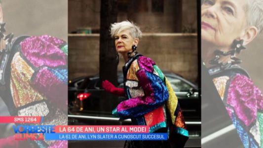 La 64 de ani, un star al modei