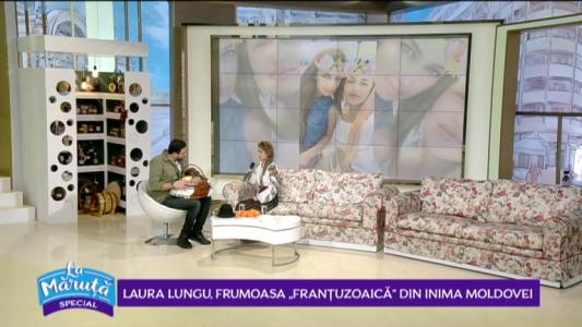 "Laura Lungu, frumoasa ""frantuzoaica"" din inima Moldovei"