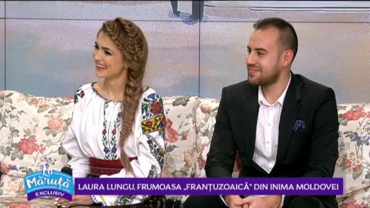 Laura Lungu, frumoasa din inima Moldovei