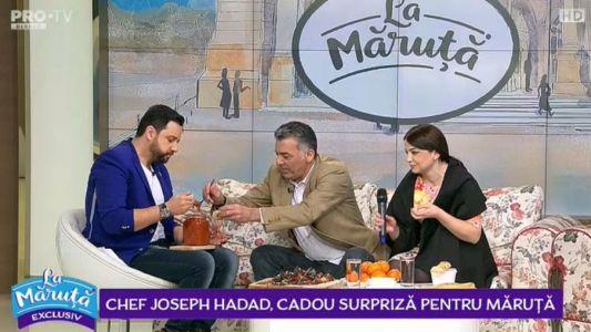 Chef Hadad, cadou surpriza pentru Maruta