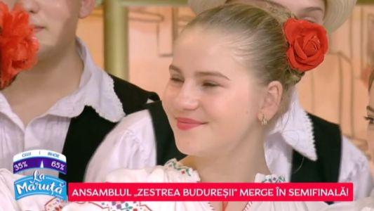 Ansamblul Zestrea Buduresii - Bihor merge in Semifinala