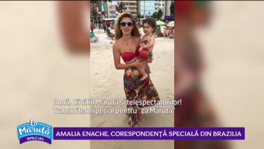 Amalia Enache, corespondenta speciala din Brazilia