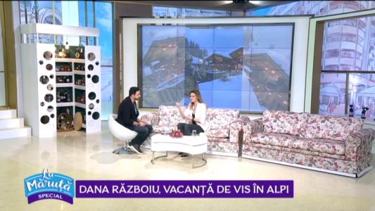 Dana Razboiu, vacanta de vis in Alpi