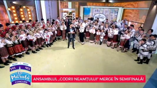 "Ansamblul ""Codrii Neamtului"" merge in semifinala!"
