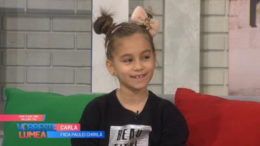 Fiica Paulei Chirila, pasionata de inventii