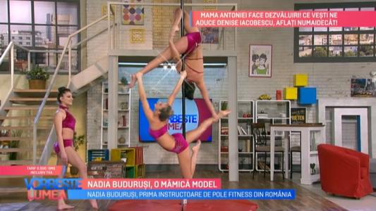 Nadia Budurusi, o mamica model