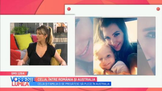 Celia, intre Romania si Australia