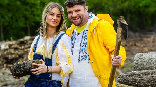 "Gratiela si Andrei Duban si-au unit fortele in Ferma Vedetelor: ""Am construit la ferma cat nu am construit toata viata"""