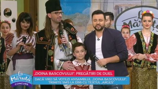 Ansamblul Doina Bascovului, pregatiri pentru duel