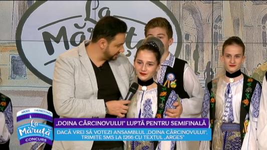 """""""Doina Carcinovului"""" lupta pentru semifinala"""