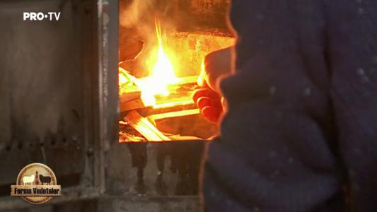 Aprinderea focului a starnit primele dispute din ferma