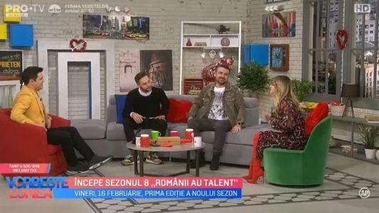 Incepe sezonul 8 Romanii au talent
