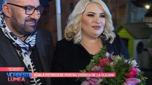 Dubla petrecere pentru Viorica de la Clejani