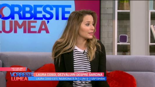 Laura Cosoi, dezvaluiri despre sarcina