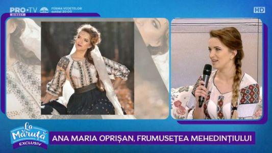 Ana Maria Oprisan, frumusetea Mehedintiului