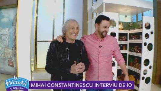 Mihai Constantinescu, interviu de 10