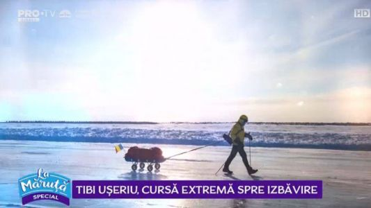 Tiberiu Useriu, cursa extrema spre izbavire