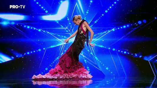 Romanii au talent 2018: Bianca Ceausescu - Danseaza Flamenco