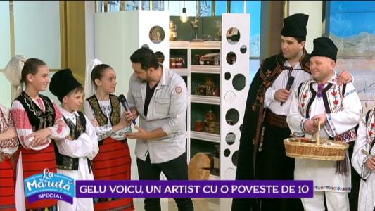 Gelu Voicu, un artist cu o poveste de 10