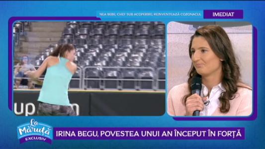 Irina Begu, povestea unui an inceput in forta