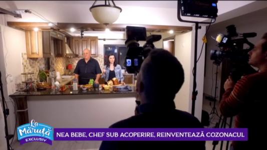 Nea Bebe, chef sub acoperire, reinventeaza cozonacul
