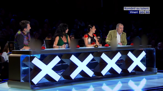 Talentul aprinde marile emotii. Milioane de inimi se indragostesc din nou de visul romanesc! Romanii au talent, vineri, numai la PRO TV!