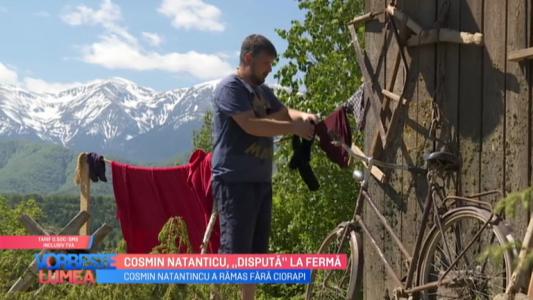 Cosmin Natanticu, disputa la ferma
