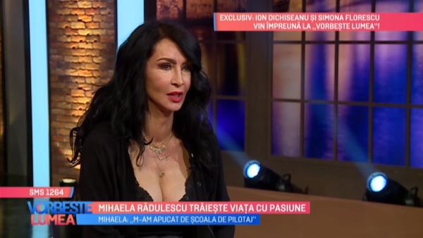 Mihaela Radulescu traieste viata cu pasiune