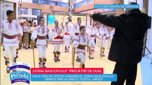 """""""Doina Bascovului"""" lupta pentru un loc in finala"""