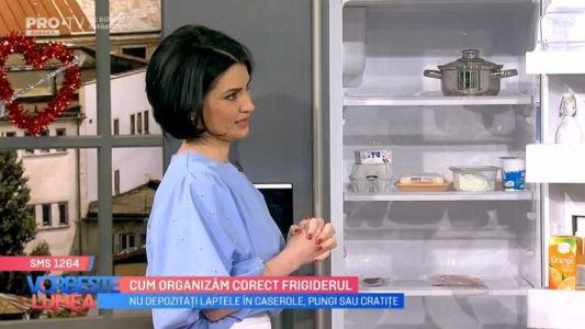 Cum organizam corect frigiderul