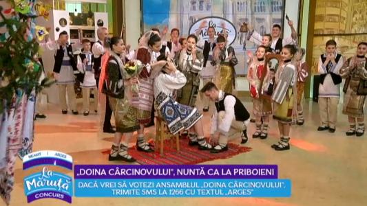 """""""Doina Carcinovului"""", nunta ca la Priboieni"""