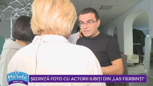 Sedinta FOTO cu actorii din Las Fierbinti