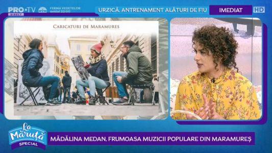 Madalina Medan, frumoasa muzicii populare din Maramures