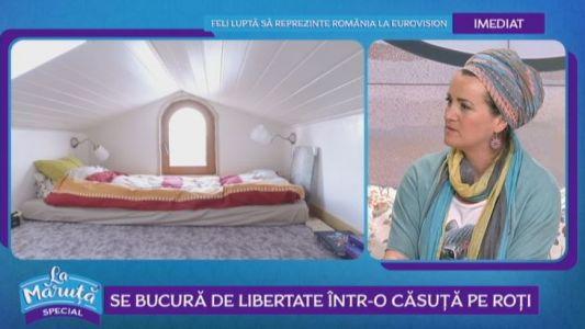 Experimentul unei femei din Romania. Traieste intr-o casa pe roti