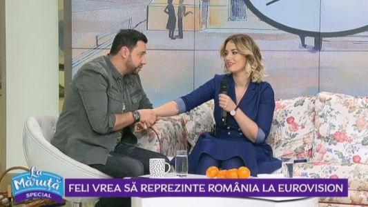 Feli vrea sa reprezinte Romania la Eurovision