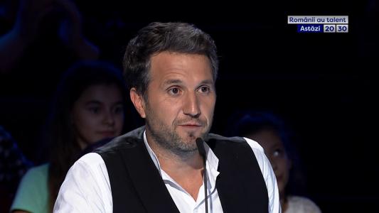 """Andi Moisescu: """"Esti metafora emisiunii noastre"""". O noua editie #romaniiautalent astazi 20:30 la PRO TV"""