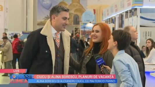 Ciucu si Alina Sorescu, planuri de vacanta
