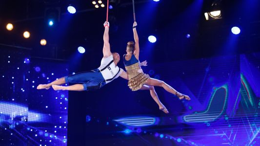 Romanii au talent 2018: Igor si Maria Gheorghiu - Aerial/Chingi