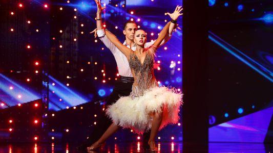 Romanii au talent 2018: Natalia Lukiv si Bogdan Boie - Dans sportiv rumba si tango