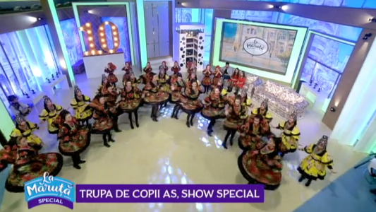 Trupa de copii As, show special