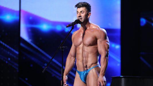Romanii au talent 2018: Nicolae Lupsor - Culturism/Dans