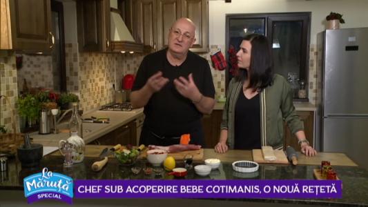 Chef sub acoperire Bebe Cotimanis, o noua reteta