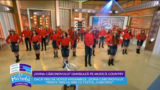 """""""Doina Carcinovului"""" danseaza pe muzica country"""