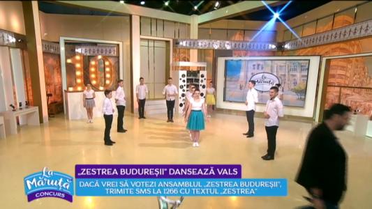 """Zestrea Buduresii"" danseaza vals"
